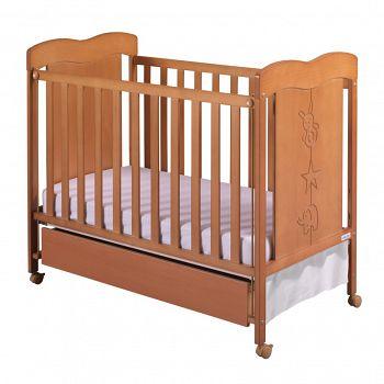 Кровать 120x60 Micuna Rosie вишня