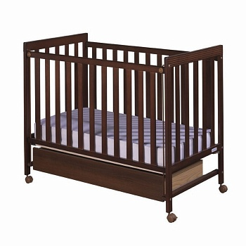 Кровать 120x60 Micuna Basic-1 шоколад