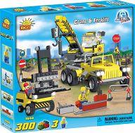 """Конструктор """"Action Town. Crane & Forklift"""" (300 деталей)"""