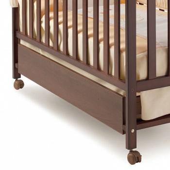 Ящик для кровати 120x60 Micuna Luxe шоколад (CP-949)