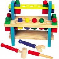 Набор детских инструментов с верстаком №1