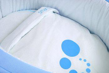Сменное белье для колыбели Micuna Smart голубой (TX-1482)