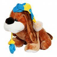 """Мягкая игрушка """"Собака с варежкой"""""""