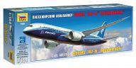 """Сборная модель """"Пассажирский авиалайнер Боинг 787-8 """"Дримлайнер"""""""