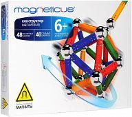 """Магнитный конструктор """"4 цвета"""" (88 деталей)"""