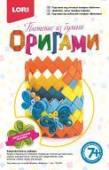 """Набор для плетения из бумаги """"Оригами. Подставка под сотовый телефон Бабочки"""""""