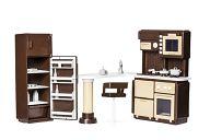 """Набор мебели для кукол """"Коллекция. Кухня"""""""