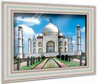 """Объемная картина """"Архитектура. 7 чудес света. Тадж-Махал"""" (43 детали)"""