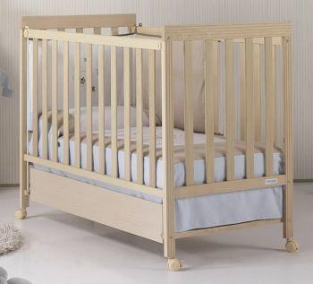 Кровать 120x60 Micuna Basic-1 натуральный
