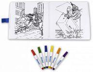 """Книжка-раскраска с фломастерами """"Человек-Паук"""" (6 цветов)"""