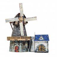 """Сборная модель из картона """"Ветряная мельница"""" (32 детали)"""
