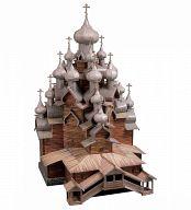 """Сборная модель из картона """"Церковь Преображения Господня"""" (210 деталей)"""