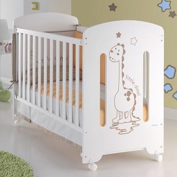 Кровать 120x60 Micuna Dinus белый