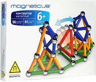 """Магнитный конструктор """"4 цвета"""" (157 деталей)"""