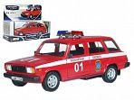 """Модель автомобиля """"ЛАДА 2104. Пожарная охрана"""""""