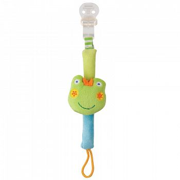 """Текстильная прищепка """"Frog"""" (Happy Baby 330050)"""