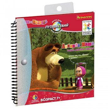 """Магнитная игра для путешествий """"SmartGames. Маша и Медведь. Деловая Маша"""" (Bondibon ВВ1053)"""