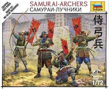 "Набор миниатюр ""Битвы самураев. Самураи-лучники"" (Звезда 6404)"