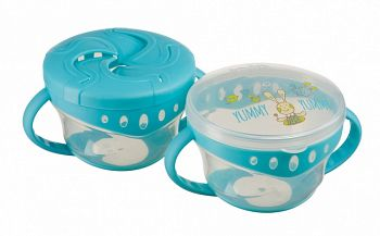 "Набор тарелок с крышками ""Comfy Plate Double Set"" (Happy Baby 15020)"