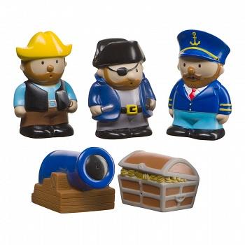 """Набор игрушек для купания """"Pirates"""" (Happy Baby 32012)"""