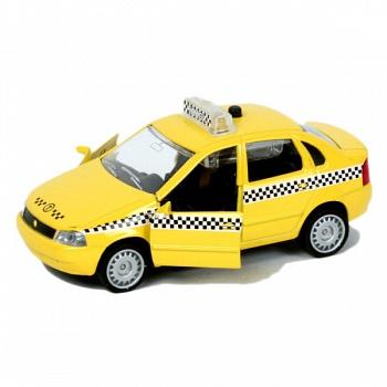 "Машина металлическая инерционная ""ЛАДА КАЛИНА. Такси"" (Технопарк CT1049WB-T)"