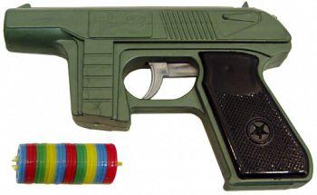 Пистолет с дисковыми пулями (ПК Форма С-21-Ф)