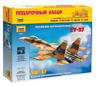 """Сборная модель """"Подарочный набор. Российский сверхманевренный истребитель Су-37"""""""