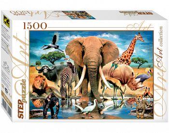 """Пазл """"Art Collection. В мире животных"""" (Степ Пазл 83042)"""