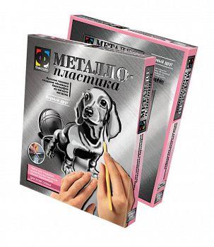 """Металлический барельеф """"Металлопластика. Верный друг. Собака"""" (Фантазёр 437007)"""