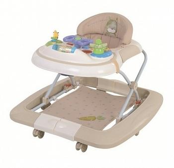 Ходунки-качалка Happy Baby Robin Cream (2449)
