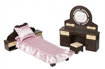 """Набор мебели для кукол """"Коллекция. Спальня"""" (Огонек С-1303)"""