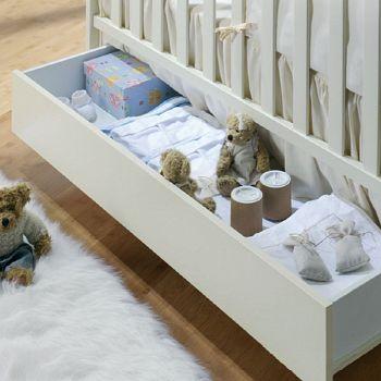 Ящик для кровати 120x60 Micuna Luxe слоновая кость (CP-949)