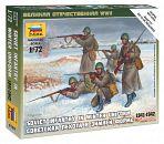 """Набор миниатюр """"Великая Отечественная. Советская пехота в зимней форме 1941-1942"""""""