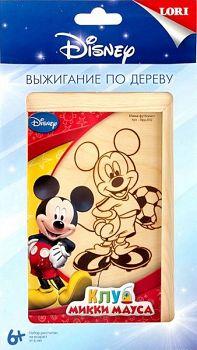 """Выжигание по дереву """"Disney. Микки-футболист"""" (Lori Врд-002)"""
