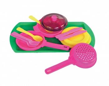 Набор игрушечной посуды (Огонек С-239)