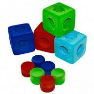 """Набор из натурального каучука """"Мягкие кубики"""""""