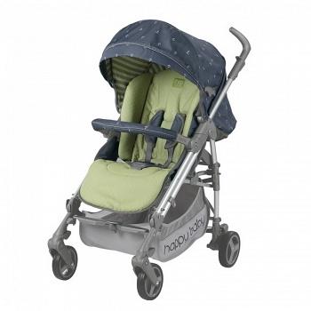 Открытая коляска Happy Baby Nicole NEW Gray (2497)