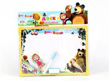 """Доска для рисования """"Маша и Медведь. В саду"""" (Затейники GT5578)"""