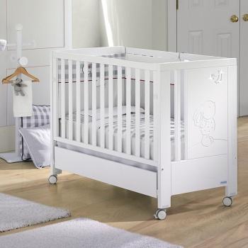 Кровать 120x60 Micuna Cielo Luxe Relax белый