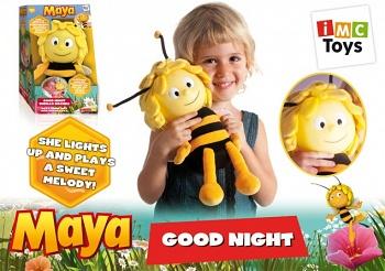 """Мягкая игрушка-ночник """"Пчелка Майя"""" (iMC Toys 200067)"""