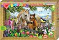 """Набор для создания объемной картины """"Я люблю лошадок"""""""
