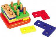 Деревянная головоломка-конструктор