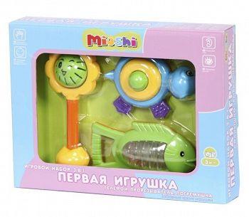"""Игровой набор 3 в 1 """"Первая игрушка"""" (Mioshi TY9046)"""