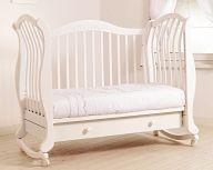 "Кровать 120x60 Гандылян ""Габриэлла люкс"" белый"