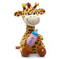 """Мягкая игрушка """"Жирафик с бутылочкой малый"""""""
