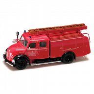 """Коллекционная модель автомобиля """"Пожарная машина. MAGIRUS-DEUTZ MERCUR TLF16 1961"""""""