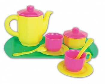 """Набор игрушечной посуды """"Чайный"""" (Огонек С-237)"""