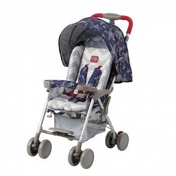 Открытая коляска Happy Baby Celebrity Navy (2559)