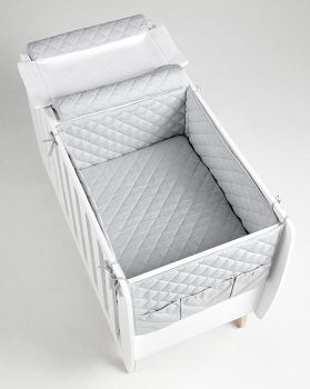 Сменное белье для кровати 76x60 Micuna Harmony серый (TX-1686)
