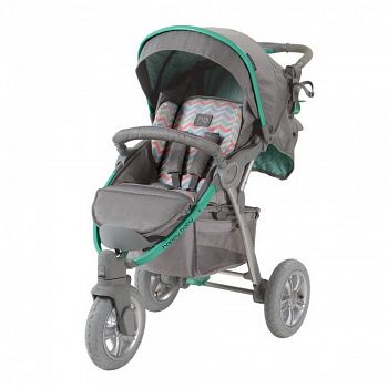 Прогулочная коляска Happy Baby Neon Sport Green (2557)